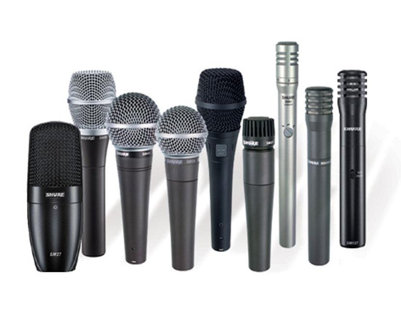 Mikrofony...
